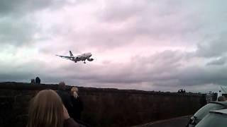 Download pia at leeds bradford airport landing Video