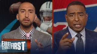 Download Cris Carter on Cam Newton confronting Kelvin Benjamin at preseason game | NFL | FIRST THINGS FIRST Video