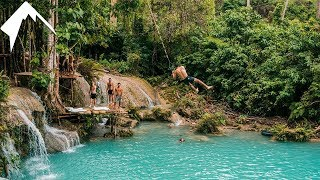 Download MASSIVE ROPE SWING IN SIQUIJOR PHILIPPINES 😱 Video