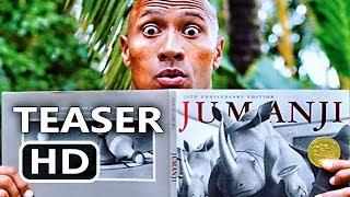 Download JUMANJI 2 Trailer Tease (Dwayne Johnson, Jack Black, Kevin Hart) Comedy Movie HD Video