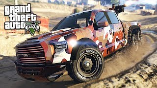 Download NEW $2,500,000 ″VELOCIRAPTOR 6X6″ VAPID CARACARA TRUCK!! (GTA 5 Online DLC Update) Video