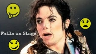Download Michael Jackson #1 Stage Fails | Funny - Angry - Bloopers - Awkward [Rare Footage Collection] Video