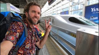 Download How Is Train Travel in JAPAN? Bullet Train Experience Video