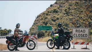 Download Honda CRF250L Rally vs Kawasaki Versys-X 300: The Summer the Coast was Closed | ON TWO WHEELS Video