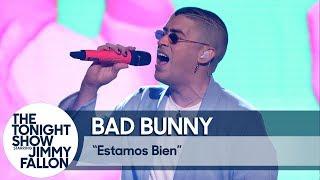 Download Bad Bunny: Estamos Bien (TV Debut) Video