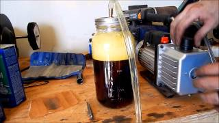 Download DIY Home Made Vacuum Chamber. Video
