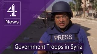Download Inside Aleppo: Krishnan Guru-Murthy talks to government troops Video