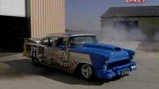 Download Merlin V12 Powered 55 Chevy Video