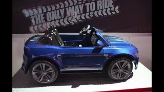 Download New! Power Wheels Smart Drive Wheels Mustang ~ Toy Fair 2016 Video