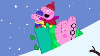 Download Peppa Pig Español Capitulos Completos -Día de inviernos fríos-Episodios de Navidad- Dibujos Animados Video