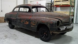 Download 1951 Mercury Eight Restoration Project Video