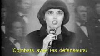 Download Mireille Mathieu singing La Marseillaise (with lyrics) Video