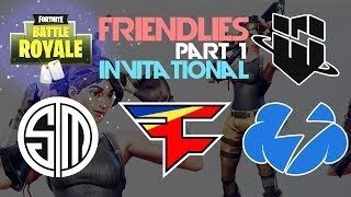 Download TSM FaZe WBG TempoStorm 🥊Friendlies Invitational🥊 Part 1 (Fortnite) Video