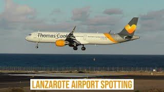 Download Lanzarote Airport Spotting ✈ An Afternoon of Arrivals & Departures Video