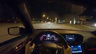 Download Driving the 2018 Acura TLX A-Spec at Night - POV Final Impressions (Binaural Audio) Video