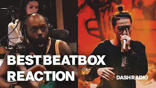 Download Best Beatbox reaction ever 😂 - Trung Bao at DASH Radio Video