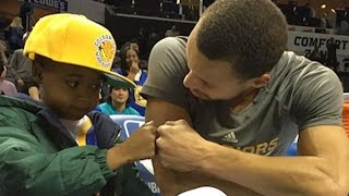 Download Steph Curry Grants Fan with Cancer His Dying Wish, Coach Kerr Says He's Better Than Michael Jordan Video