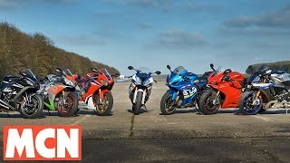 Download MCN 2017 Superbike Shootout | Road Test | Motorcyclenews Video