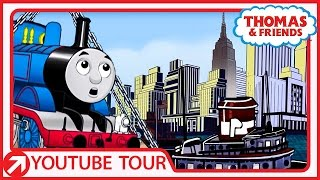 Download Thomas Goes to New York! | YouTube World Tour | Thomas & Friends Video