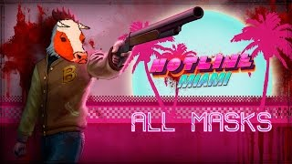 Download Hotline Miami ALL MASK LOCATIONS AND EFFECTS Video