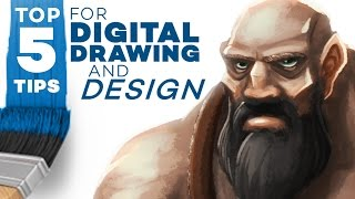 Download TOP 5 TIPS for Digital Drawing and Design! Video