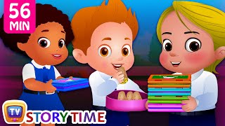 Download The Food Project at School plus Many Bedtime Stories for Kids in English | ChuChuTV Storytime Video