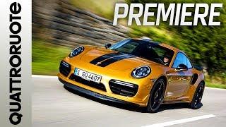Download Porsche 911 Turbo S Exclusive Series: prime impressioni di guida | Quattroruote Video