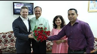 Download Consul General of Canada in India makes courtesy visits to CCP before start of IFFI 2017 Video