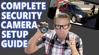 Download Home Security Camera System Surveillance Setup: How to Best DIY IP Installation Placement HD CCTV 16 Video