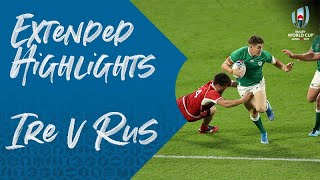 Download Extended Highlights: Ireland 35-0 Russia - Rugby World Cup 2019 Video