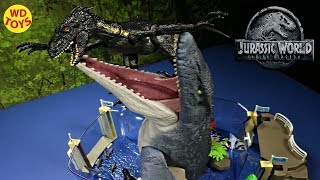 Download New Indoraptor Vs Mosasaurus Playmobil Aquarium Unboxing Jurassic World Fallen Kingdom WD Toys Video