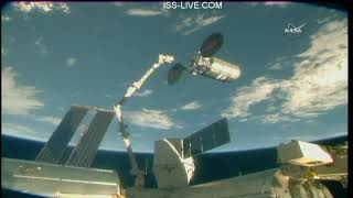 Download Departure of the Northrop Grumman Cygnus CRS-9 Cargo Craft from the International Space Station Video