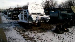 Download Brand New Vehicles in the Junk Yard Video
