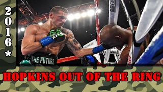 Download Bernard Hopkins vs Joe Smith Jr. Highlights, Hopkins gets knocked out of the ring ! Video