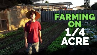 Download Quitting Your Job To Farm on a Quarter Acre In Your Backyard? Video