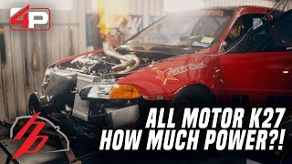Download How Much Power Can Our All Motor K Series Make? | Road to HDay Part 3 Video
