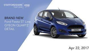 Download Ford Fiesta ST Line New Car GYEON QUARTZ Protection Detail. Video