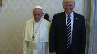 Download Raw: President Trump Meets Pope Francis Video