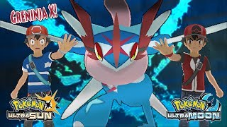 Download Pokemon Ultra Sun and Ultra Moon: Ash and Champion Ash Vs Dark Ash and Dark Hero (Greninja X) Video