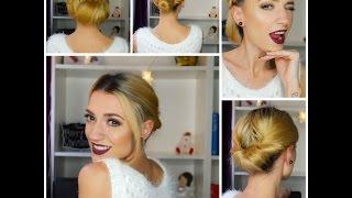 Download 3 Recogidos fáciles, rápidos y elegantes | 3 easy, fast and elegant hairstyles Video