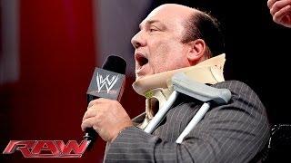 Download CM Punk brutally attacks Paul Heyman with a Kendo stick: Raw, Nov. 11, 2013 Video