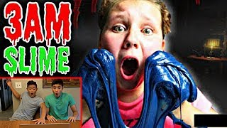 Download REACTING TO 3AM FLUFFY SLIME CHALLENGES!! *EXPOSING* Video