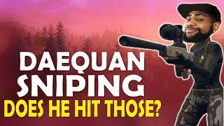 Download DAEQUAN SNIPING FINALLY | DOES HE HIT THOSE? | HIGH KILL FUNNY GAME - (Fortnite Battle Royale) Video