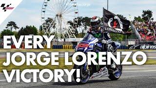 Download Every single Jorge Lorenzo victory! | #ThankYouJorge Video