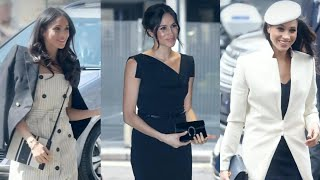 Download Inside Meghan Markle's Style Evolution: From Red Carpet Princess to Real-Life Royalty Video