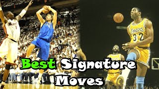 Download 10 Greatest Signature Moves In NBA History! Video
