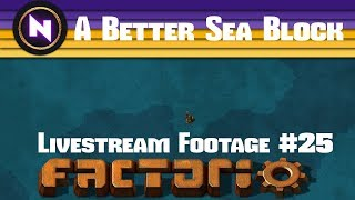Download Factorio 0.16 ″A Better Sea Block″ - E25 MALL IS HERE... COPY-PASTE - Livestream Footage Video