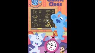 Download Opening to Blue's Clues: Classic Clues 2004 VHS Video