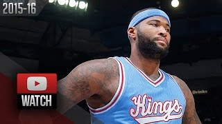 Download DeMarcus Cousins Full Highlights vs Nets (2015.11.13) - 40 Pts, 13 Reb, Beast Mode! Video