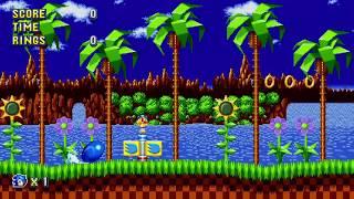 Sonic Mania : Studiopolis Act 2 - No Collision Glitch Strat with
